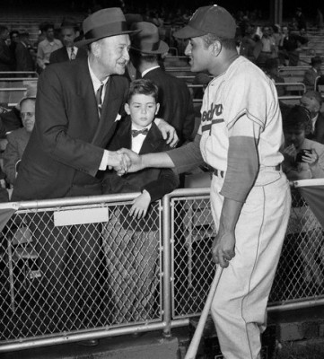 Ty Cobb And Brooklyn Dodgers Don Newcombe