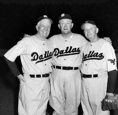 Ty Cobb, Tris Speaker And Duffy Lewis